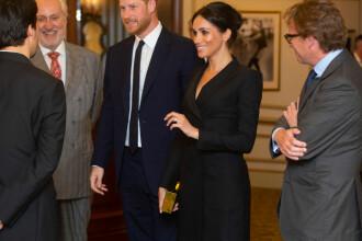 Prinţul Harry şi Meghan, prezenţi la musicalul Hamilton. Ţinuta aleasă de ducesă. FOTO