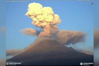 Vulcanul Popocatepetl stârnește îngrijorare. 25 de milioane de oameni trăiesc în apropiere