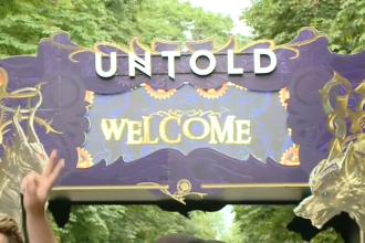 Untold şi-a deschis porţile. Tinerii care au făcut 16 ore cu trenul din Călărași în Cluj