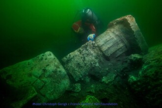 Comoara neașteptată descoperită într-un oraș scufundat, din Egiptul Antic. FOTO