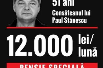 Deputat USR: Fostul șef al Poliției Caracal, pensie de aproximativ 12.000 lei pe lună