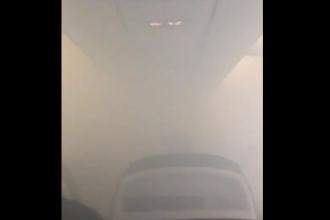 Aterizare de urgență la Valencia, după ce cabina s-a umplut de fum. Pasagerii, evacuați pe tobogan