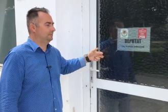 Ce a găsit Rareș Năstase la biroul de parlamentar din Caracal al deputatului PSD Iordache