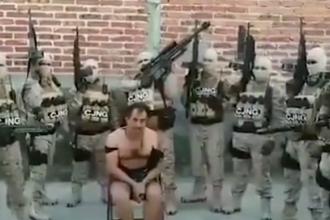 Video șocant. Ultimele clipe ale unui mexican, înainte de a fi executat de cartelul rival