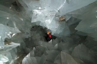 Spania se mândrește cu cea mai mare peșteră de cristale din Europa