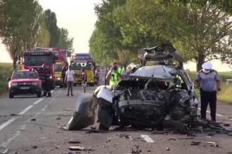 Șofer de 61 de ani mort după ce mașina lui a ajuns pe contrasens, în Bacău