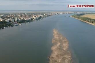 """Fenomen fascinant pe Dunăre. Turist: """"E plăcută ochiului, e liniștitoare"""""""