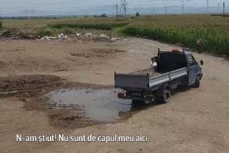 """Moloz aruncat în râuri și lacuri. Șofer: """"Dacă am văzut mașinile că răstoarnă aici"""""""