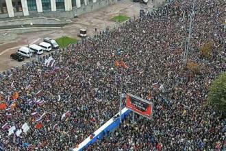 Rusia acuză mai multe guverne străine că susțin protestele opoziției. A amenințat și Google