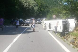 Accident grav în Vâlcea: 21 de persoane implicate. Planul Roșu, activat