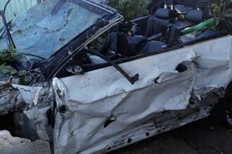 Accident cu 2 morți în Tulcea. IMAGINI ȘOCANTE: totul a fost transmis live pe Facebook