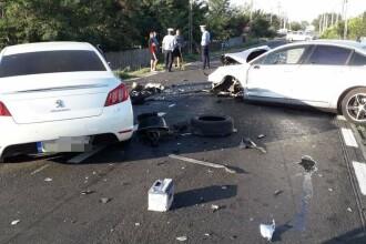 Accident grav produs de un şofer care a adormit la volan. Un copil, printre victime