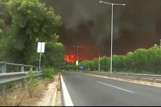 Atenţionare de călătorie a MAE pentru români. Risc ridicat de incendii în Grecia