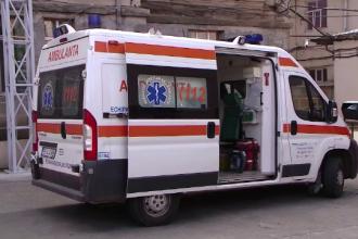 Incident șocant la un spital din Iaşi. Un bolnav de COVID-19 s-a aruncat de la etajul 6