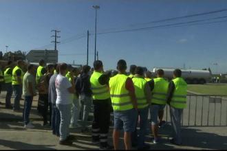 Stare de urgență în Portugalia. Șoferii care transportă substanțe periculoase, în grevă