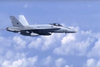 Un avion american de vânătoare s-a prăbușit în Marea Nordului. Pilotul a murit