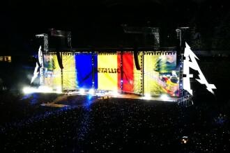 """Momentul în care Metallica a cântat """"De vei pleca"""", piesa trupei Iris, pe Arena Națională"""