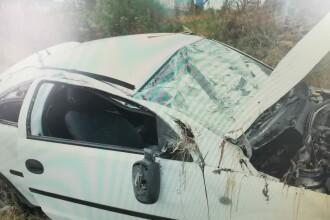 Accident grav pe DN7. O întreagă familie, la spital după o depăşire neregulamentară