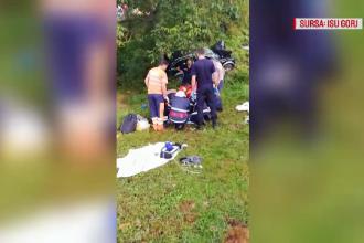 Alcoolul a făcut 4 victime într-un accident din Gorj, joi dimineață