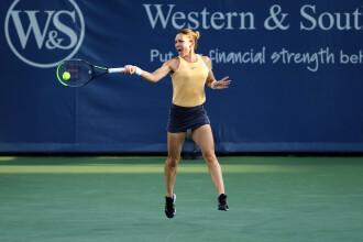 Simona Halep, eliminată în optimile de finală de la Cincinnati de Madison Keys