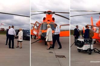 Gafa făcută de Viorica Dăncilă când a explicat de ce a mers în Moldova cu elicopterul