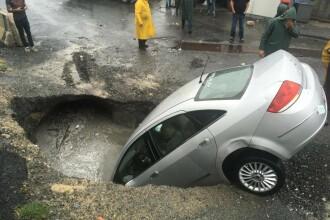 Scene apocaliptice în Istanbul. Inundații masive au paralizat orașul