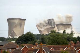 Demolare periculoasă: 50.000 de case, fără curent după o implozie de 10 secunde. VIDEO