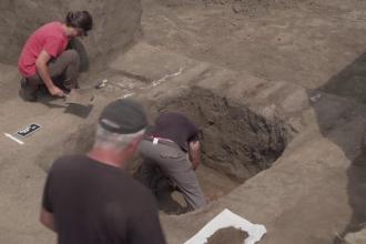 Descoperire arheologică uluitoare în România. Experți străini au venit să o vadă