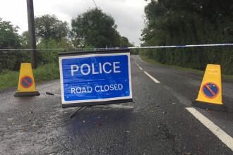 O bombă care viza poliţişti a explodat în Irlanda de Nord, aproape de frontieră