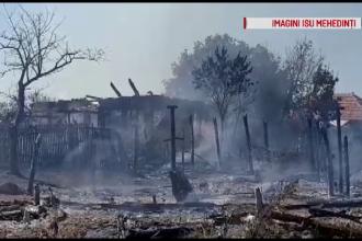 Dezastrul provocat de o bătrână care a vrut să ardă vegetaţia din curte