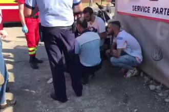 Greșeala unui motociclist de 21 de ani din Mioveni. Ce a vrut să facă în trafic