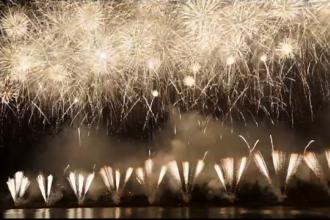 Spectacol pe cerul Moscovei la Festivalul Internaţional de Artificii