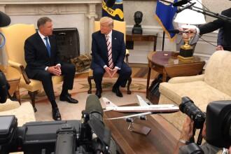 Discuțiile purtate de Iohannis cu Trump. Președintele american spune că e posibil să vină în România