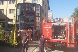 Incendiu la sauna unui hotel din Braşov. 30 de persoane au fost evacuate
