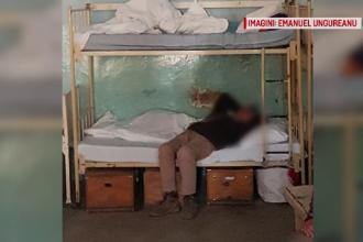 Pacienți, ținuți în condiții terifiante, în timp ce la doi pași se află un spital gol