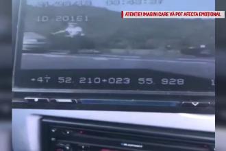Ce s-a întâmplat la poliţie cu şoferul care a izbit în plin cu mașina un agent din Maramureș
