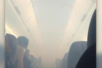 Un avion a aterizat de urgență după ce un fum gros a umplut cabina. Ce au pățit cei 184 de pasageri