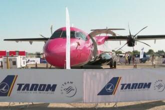 BIAS 2019. Spectatorii pot admira noul ATR-72, care va intra în flota TAROM