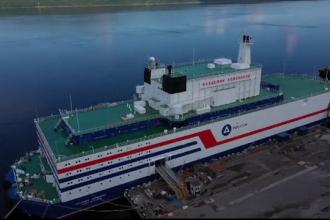 """Alertă din cauza centralei nucleare plutitoare a Rusiei: """"O catastrofă e foarte posibilă"""