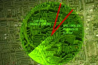 ANIMAȚIE GRAFICĂ. Filmul apelurilor false la 112, care au pus pe jar polițiștii Capitalei
