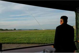 Trump îl ameninţă pe Kim Jong Un, după testul cu rachete.