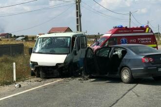 Accident grav în Dolj. Cinci răniți, printre care și doi copii