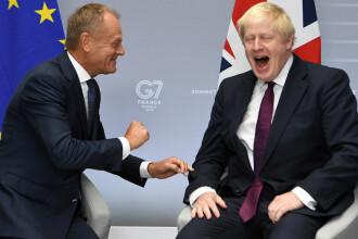 BREXIT-ul, la G7. Boris Johnson vrea să dea 9 miliarde de lire, UE cere 39 de miliarde