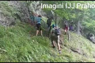 Turiști canadieni, blocați pe munte. De ce nu au vrut să urmeze marcajele