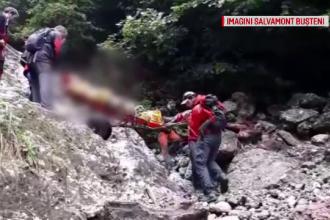 Misiune dificilă pentru salvamontiștii din Bușteni. În ce stare a fost găsit un tânăr
