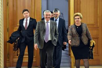 Miniștrii ALDE Anton Anton, Viorel Ilie și Grațiela Gavrilescu au demisionat din Guvern