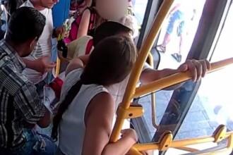Cum a acționat un șofer de autobuz din Cluj când a observat că o femeie este jefuită