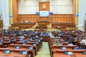 Întâlnire la Parlament între USR, PMP, UDMR şi minorităţi pe tema moţiunii de cenzură