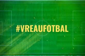#VreauFotbal   Scrisoarea MANIFEST cu care toți fotbalistii români s-au trezit azi în inbox