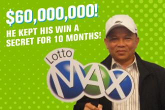 A câștigat un premiu uriaș la loto, dar și-a revendicat banii după 10 luni. Explicația lui